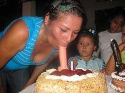 thats not how you blow candles out!