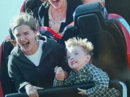 rollercoaster kid was a friend of mine
